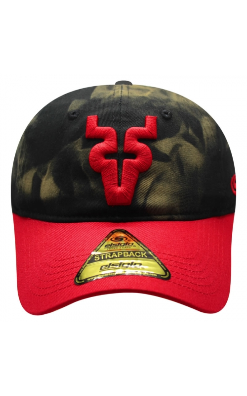 Gorra Strap Graphene Black/Red V