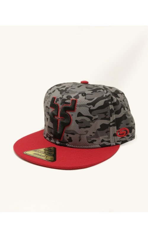 Gorra SB Light Camo Gris-Negro